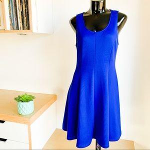 ANTHROPOLOGIE Everly Cobalt Blue Dress   Size Sm